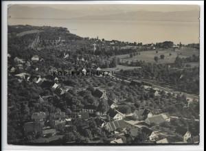 ZZ-3381/ Hemmighofen - Nonnenbach Foto seltenes Luftbild 1935 18 x 13 cm