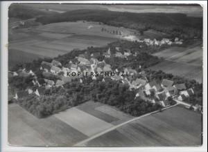 ZZ-3386/ Temmenhausen Foto seltenes Luftbild 1936 18 x 13 cm