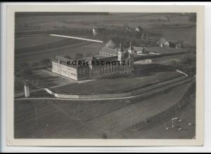 ZZ-3388/ Kellenried Kloster St. Erentraud Foto seltenes Luftbild ca.1938 18x13cm