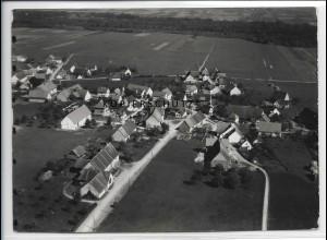 ZZ-3705/ Unteropfingen b. Kirchdorf Foto seltenes Luftbild 1936 18 x 13 cm