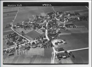 ZZ-3707/ Unteropfingen b. Kirchdorf Foto seltenes Luftbild 1938 18 x 13 cm