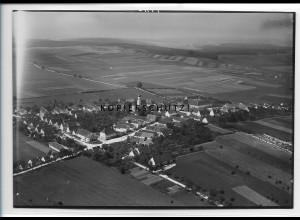 ZZ-3394/ Eglingen b. Dischingen Foto seltenes Luftbild 1935 18 x 13 cm
