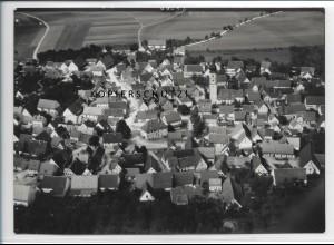ZZ-3402/ Merklingen (Alb) Foto seltenes Luftbild 1936 18 x 13 cm
