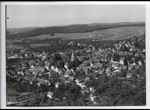 ZZ-3409/ Welzheim Foto seltenes Luftbild 1936 18 x 13 cm