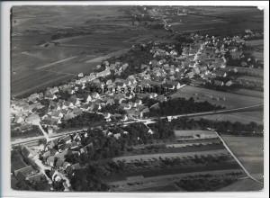 ZZ-3414/ Sontheim a.d,. Brenz Foto seltenes Luftbild 1937 18 x 13 cm