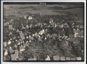 ZZ-5510/ Welzheim seltenes Foto Luftbild 18 x 13 cm