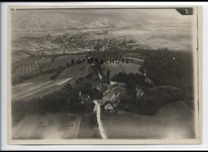 ZZ-3424/ Engelberg bei Winterbach Foto seltenes Luftbild ca.1936 18 x 13 cm