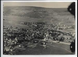 ZZ-3427/ Winterbach mit Bahnhof Foto seltenes Luftbild 1935 18 x 13 cm