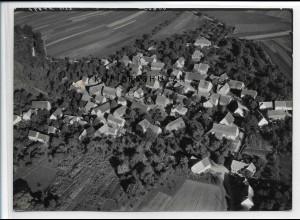 ZZ-3441/ Ruppertshofen Foto seltenes Luftbild 1936 18 x 13 cm