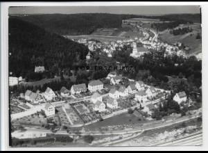 ZZ-3446/ Herrlingen Foto seltenes Luftbild 1936 18 x 13 cm