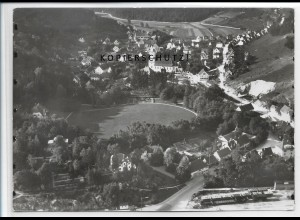 ZZ-3448/ Herrlingen Foto seltenes Luftbild 1936 18 x 13 cm