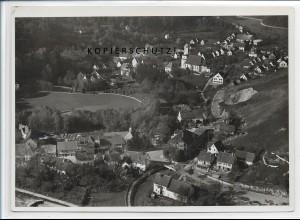 ZZ-3449/ Herrlingen Foto seltenes Luftbild 1936 18 x 13 cm