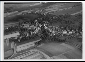 ZZ-3454/ Schechingen Foto seltenes Luftbild 1938 18 x 13 cm