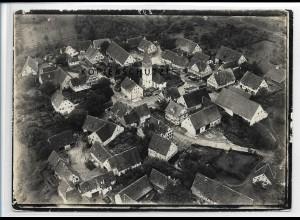 ZZ-3468/ Orlach b. Braunsbach Foto seltenes Luftbild 1935 18 x 13 cm