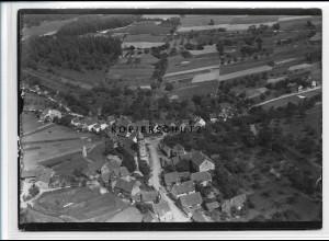 ZZ-3484/ Unteraltenbuch Altenbuch Krs. Miltenberg Foto Luftbild 1938 18 x 13 cm