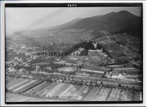 ZZ-3495/ Ortenberg Baden Foto seltenes Luftbild ca. 1938 18 x 13 cm