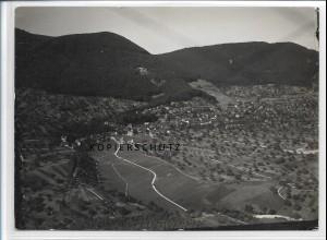 ZZ-3731/ Loffenau Foto seltenes Luftbild ca. 1938 18 x 13 cm