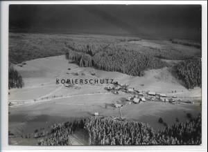 ZZ-3732/ Bubenbach b. Eisenbach Foto seltenes Luftbild ca. 1938 18 x 13 cm