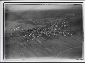ZZ-3737/ Gerlingen Foto seltenes Luftbild 1937 18 x 13 cm
