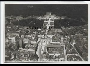 ZZ-3740/ Karlsruhe Foto seltenes Luftbild ca. 1938 17,5 x 12 cm