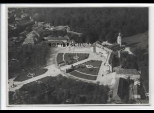 ZZ-3747/ Karlsruhe Foto seltenes Luftbild 1935 17 x 12,5 cm