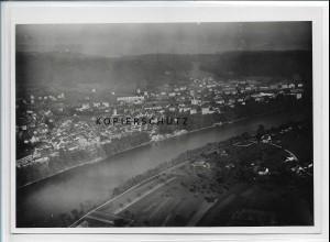 ZZ-5190/ Waldshut bei Tiengen Foto seltenes Luftbild 18 x 13 cm ca.1938
