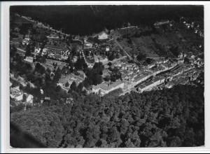 ZZ-3794/ Wildbad Foto seltenes Luftbild ca.1935 18 x 13 cm