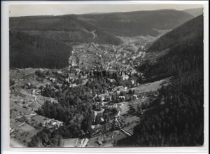 ZZ-3795/ Wildbad Foto seltenes Luftbild 1936 18 x 13 cm