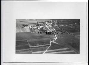 ZZ-5199/ Wörnitzostheim b. Alerheim Foto seltenes Luftbild 18 x 13 cm ca.1938