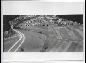 ZZ-3503/ Laucherttal bei Sigmaringen Foto seltenes Luftbild 1935 18 x 13 cm