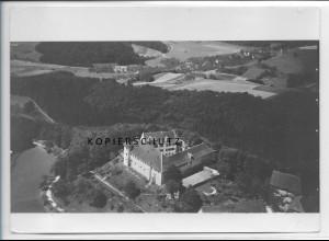 ZZ-3504/ Schloß Hohenfels Foto seltenes Luftbild ca. 1935 18 x 13 cm