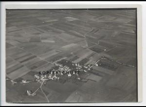 ZZ-3505/ Blaubeuren Foto seltenes Luftbild 1934 18 x 13 cm