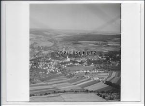 ZZ-3507/ Stockach Foto seltenes Luftbild 1934 18 x 13 cm