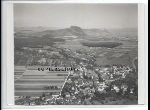 ZZ-3508/ Rielasingen-Worblingen Foto seltenes Luftbild 1934 18 x 13 cm
