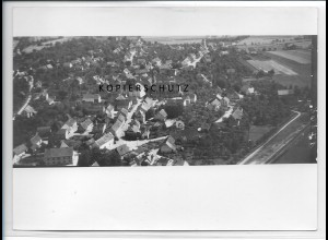 ZZ-3509/ Hilzingen Foto seltenes Luftbild 1934 18 x 13 cm