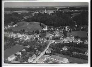 ZZ-3823/ Altenstadt - Illereichen Foto seltenes Luftbild 1936 18 x 13 cm