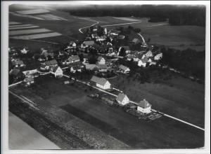 ZZ-3825/ Filzingen - Altenstadt Foto seltenes Luftbild ca.1936 18 x 13 cm