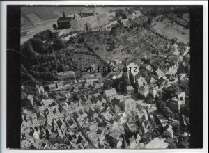 ZZ-3832/ Kulmbach Foto seltenes Luftbild 1939 18 x 13 cm