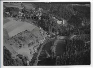ZZ-3836/ Guttenberg Foto seltenes Luftbild 1939 18 x 13 cm