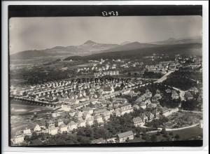 ZZ-5500/ Göppingen seltenes Foto Luftbild 18 x 13 cm