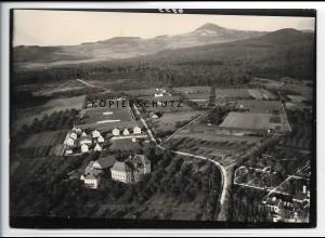ZZ-5498/ Göppingen neue Siedlung seltenes Foto Luftbild 18 x 13 cm