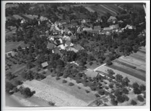 ZZ-5226/ Streich bei Berglen Foto seltenes Luftbild 18 x 13 cm 1938