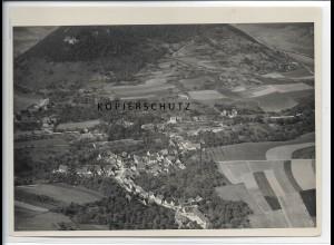 ZZ-4024/ Bad Ditzenbach Foto seltenes Luftbild 1936 18 x 13 cm