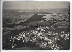 ZZ-4025/ Aufhausen bei Geislingen Foto seltenes Luftbild ca.1938 18 x 13 cm