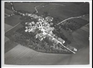 ZZ-5104/ Bräunisheim Amstetten Foto seltenes Luftbild 1938 18 x 13 cm