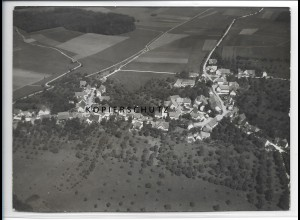 ZZ-5105/ Schalkstetten Amtstetten Foto seltenes Luftbild 1938 18 x 13 cm