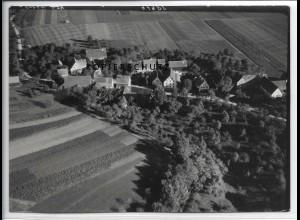 ZZ-5106/ Brech bei Alfdorf Foto seltenes Luftbild 1939 18 x 13 cm