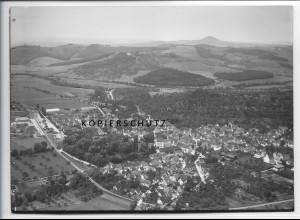ZZ-5278/ Donzdorf Foto seltenes Luftbild 18 x 13 cm ca.1938