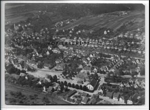 ZZ-4506/ Ebersbach a.d. Fils Foto seltenes Luftbild 1936 18 x 13 cm