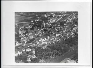 ZZ-4505/ Ebersbach a.d. Fils Foto seltenes Luftbild 1937 18 x 13 cm